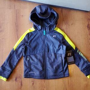Russell tech fleece jacket zipper brand new